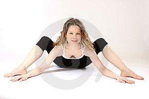 Flexible Woman Stock Photos - Image: 8257263