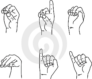 Hand Gestures Stock Photography - Image: 8257332