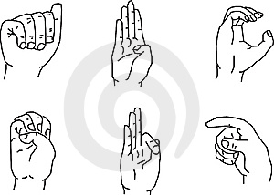 Hand Gestures Royalty Free Stock Photo - Image: 8257335
