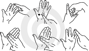 Hand Gestures Stock Image - Image: 8257371