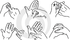 Hand Gestures Royalty Free Stock Photo - Image: 8257385