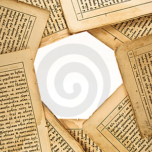 Background  Of The Old Book Pages Stock Images - Image: 8257394
