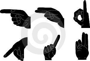 Hand Gestures Stock Photos - Image: 8257413