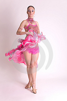 Professional Dancer In Motion Stock Photography - Image: 8258402