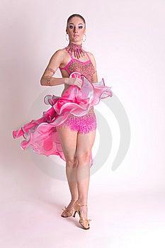 Ballerino Professionista Nel Moto Fotografia Stock - Immagine: 8258402