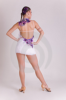Professional Dancer In Dress Stock Images - Image: 8258424