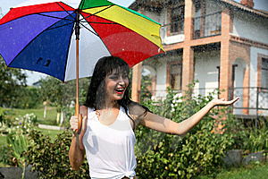 Summer Rain Stock Photos - Image: 8259103