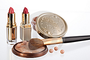 Still Life With Cosmetics Stock Photos - Image: 8259173