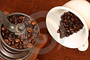 Coffee Grinder Royalty Free Stock Images - Image: 8259269