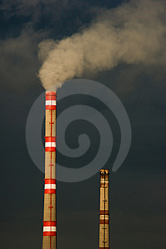 Exhaust And Smoke Royalty Free Stock Photo - Image: 8260235