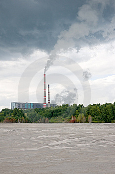 Power Plant Stock Images - Image: 8260244