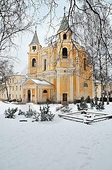Oude Kerk Stock Afbeelding - Afbeelding: 8260411