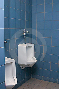 Men's Room Royalty Free Stock Images - Image: 8261199
