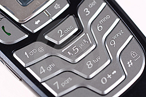 Keypad Royalty Free Stock Image - Image: 8261286