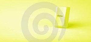 Enter Keys Royalty Free Stock Image - Image: 8261416