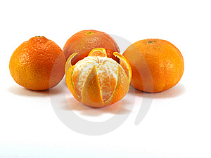 Tangerines Royalty Free Stock Photo - Image: 8261535