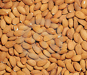 Almond Background Royalty Free Stock Image - Image: 8261796