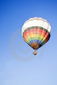 Lone Balloon Royalty Free Stock Images - Image: 8261829