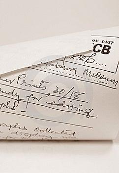 Letra De Negócio Fotografia de Stock - Imagem: 8263042