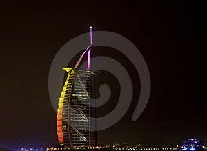 Burj Al Arab and follow through