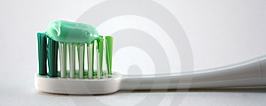 Toothbrush And Toothpaste Stock Photo - Image: 8264760