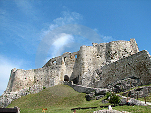Spiš Castle Royalty Free Stock Photography - Image: 8264917