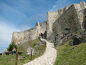 Spiš Castle Royalty Free Stock Photos - Image: 8264998