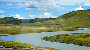 Tibet Scenery Stock Images - Image: 8265194