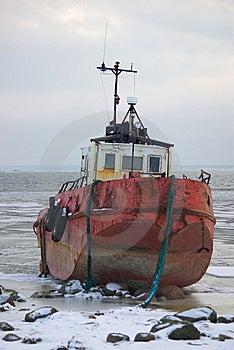 Pilot Ship Shipwreck Stock Image - Image: 8265481