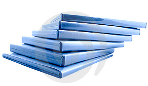 Close-up Of DVDs Boxes Royalty Free Stock Images - Image: 8265539