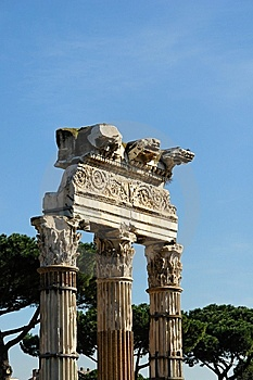 A Monument In Rome Italy Royalty Free Stock Photography - Image: 8266227