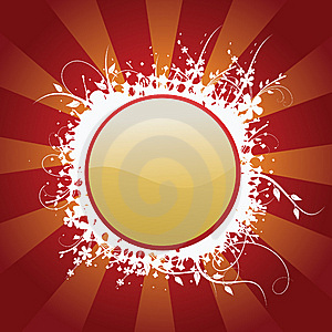Button With Popular Elements Royalty Free Stock Photos - Image: 8267158