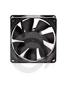 A Computer Case Fan Royalty Free Stock Images - Image: 8267449