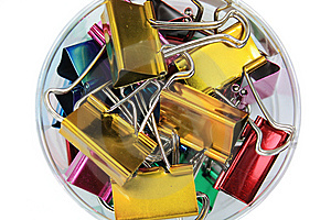 Paper Clip Stock Photo - Image: 8267510