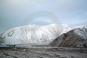 Ice And Snow Tibetan Plateau Stock Image - Image: 8267671