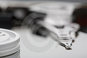 Macro Photo - Hard Disk Drive Stock Photo - Image: 8268190
