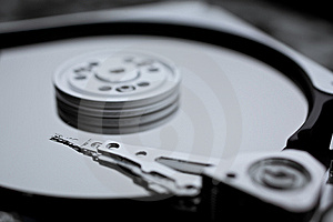 Macro Photo - Hard Disk Drive Stock Photography - Image: 8268352