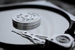 Macro Photo - Hard Disk Drive Stock Photography - Image: 8268352
