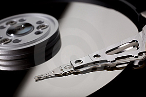Macro Photo - Hard Disk Drive Stock Photo - Image: 8268650