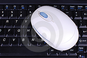 Stock Photo: Keyboard And Mouse Stock Image - Image: 8269981
