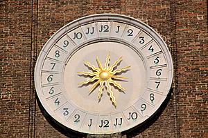 Venecian Clock Stock Photography - Image: 8270912
