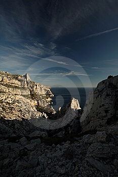 Splendid Cliffs (Calanques) Royalty Free Stock Photography - Image: 8271627
