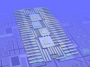 Microchip Technology Royalty Free Stock Images - Image: 8272049