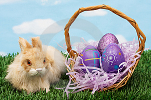 Easter Eggs Stock Image - Image: 8272351