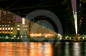 Water Under A Bridge Stock Photos - Image: 8272803