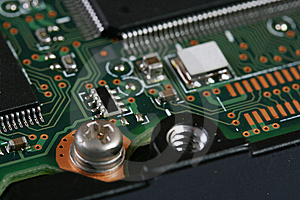 Microcircuits Royalty Free Stock Images - Image: 8272819