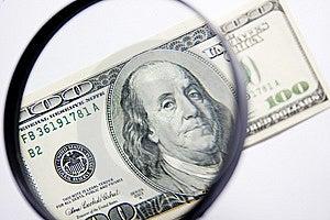 Honderd Dollars Stock Afbeelding - Afbeelding: 8272991