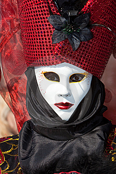 Venice Carnival Costume Stock Photo - Image: 8273320