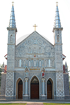Gothic Style Church. Stock Photos - Image: 8273543
