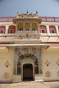 Door In Jaipur, Rajasthan Royalty Free Stock Photo - Image: 8273545